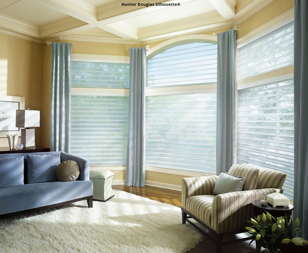 Silhouette Hunter Douglas shades